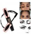 Mascara cils 4D Noir en Fibre de soie pour les yeux