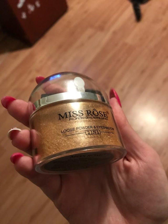 Poudre Illuminateur 2 en 1 pour le teint Glow-Up Gloss Miss-Rôse
