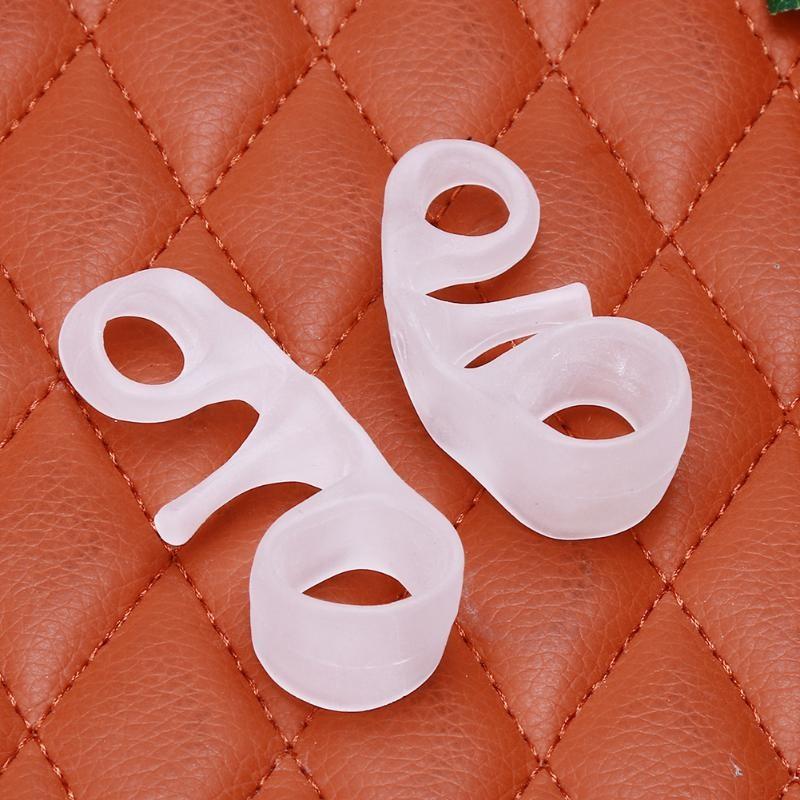 1 paire de séparateurs d'orteils correcteur élastique d'oignon Bunion Corrector™